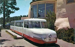 ZOO MOUNTAINEER COG RAILROAD Cadillac Train c1960s