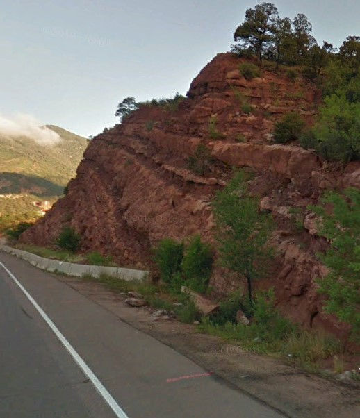 Highway 24 above Manitou Springs